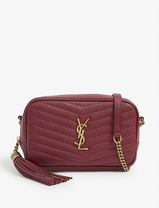 Saint Laurent Mini Lou quilted leather camera bag