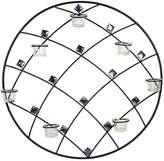 Mikasa Elements Wall Sconce, Round Gem 7 Tealight