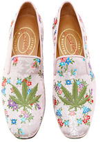 Stubbs & Wootton M'O Exclusive: Cannabis Platino Ava Slippers