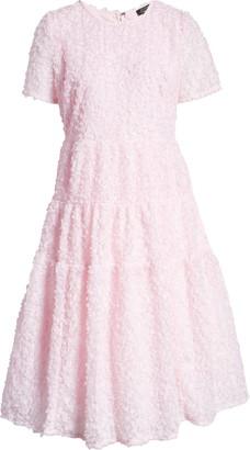 Halogen x Atlantic-Pacific Floret Tiered A-Line Dress