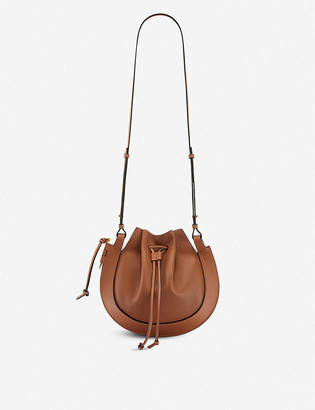 Loewe Horseshoe small leather cross-body bag