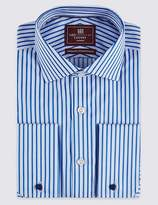 Marks and Spencer Pure Cotton Easy to Iron Slim Fit Shirt