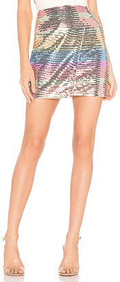 Lovers + Friends Carmen Mini Skirt
