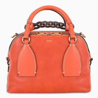 Chloé Orange Daria medium bag