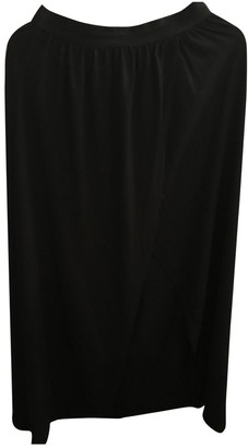 And other stories & & Stories Black Cotton Skirt for Women
