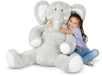 Melissa & Doug Gentle Jumbos Elephant Giant Stuffed Plush Animal