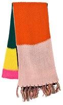 Le Big Multi Stripe Knitted Scarf