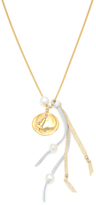Chan Luu Mokuba Ribbon Chain Necklace