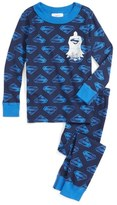 Hanna Andersson Superman Organic Cotton Two-Piece Fitted Pajamas (Toddler Boys, Little Boys & Big Boys)