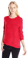 U.S. Polo Assn. Junior's Bulky Raglan Pullover Sweater