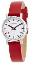 Mondaine Women's A658.30301.11SBC Quartz Evo Leather Band Watch