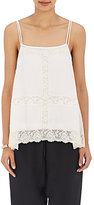 R/R Studio by Robert Rodriguez Women's Lace-Inset Cami-WHITE, CREAM