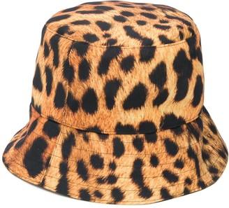 Manokhi Leopard-Print Bucket Hat