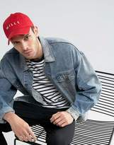 Jack Wills Enfield Baseball Cap in Red