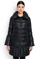 Lands' End Women's Trapeze Down Coat-Black