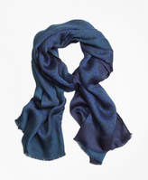 Brooks Brothers Floral Oblong Scarf