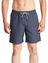 Michael Kors Pin Dotted Swim Trunks