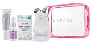 NuFace Five-Piece Trinity Power Prep-N-Glow Set