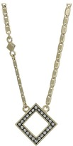 """Cole Haan 16"""" Open Crystal Diamond Necklace"""