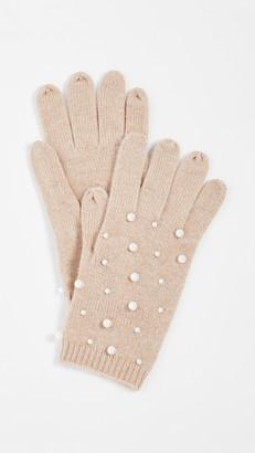 Carolina Amato Pearl Scatter Gloves