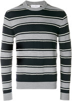Salvatore Ferragamo textured striped sweater