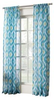 Nobrand No Brand Winslow Ikat Crushed Sheer Curtain Panel