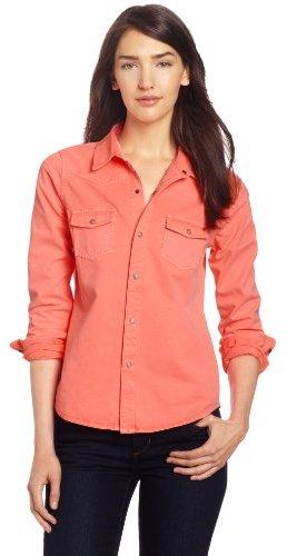 Joe's Jeans Women's Western Shirt Pigment Dye Twill