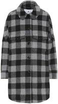 Woolrich W's Buffalo checked wool-blend jacket