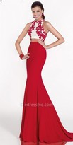 Tarik Ediz Cenny Evening Dress