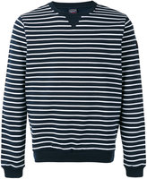 Paul & Shark striped sweatshirt - men - Cotton - XXL