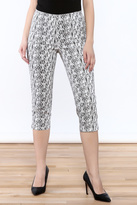 FDJ French Dressing Printed Capri Pant
