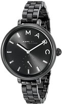 Marc by Marc Jacobs Marc Jacobs Women's Sally Black Stainless Steel Watch - MJ3455