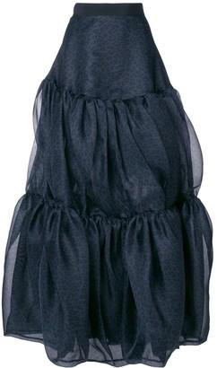 Maison Rabih Kayrouz Full Maxi Skirt