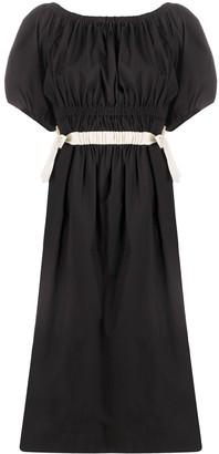 Molly Goddard Puff Sleeve Dress