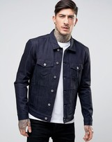 Edwin High Road Denim Jacket Unwashed