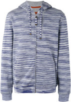 Missoni striped zipped hoodie
