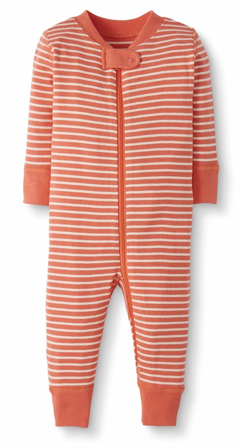 Moon and Back by Hanna Andersson Baby/Toddler One-Piece Organic Cotton Footless Pajamas