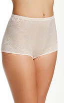 Joan Vass Mesh Padded Panty Brief