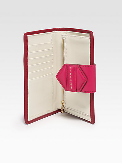 Marc by Marc Jacobs Flipping Out Medium Colorblock Continental Wallet