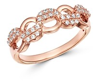 Bloomingdale's Pave Diamond Chain Band in 14K Rose Gold, 0.25 ct. t.w. - 100% Exclusive