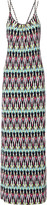 Tart Collections Wynn printed stretch-modal maxi dress