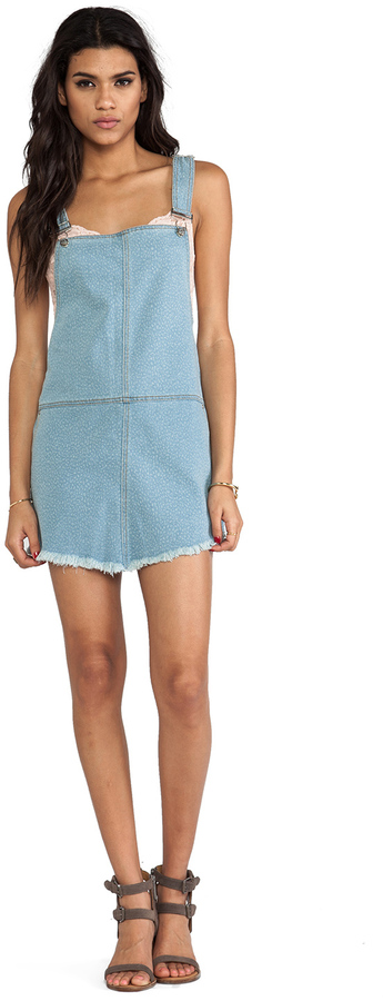 Somedays Lovin Casablanca Denim Overall Dress