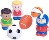 Elegant Baby Sports Squirtie Bath Toy Set