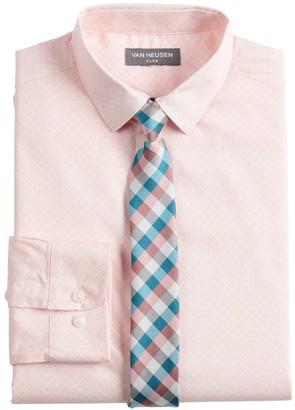 Van Heusen Boys 8-20 Button-Up Shirt & Tie Set