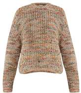 Acne Studios Zora crew-neck ribbed-knit sweater