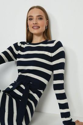 Coast Stripe Knitted Jumper Dress