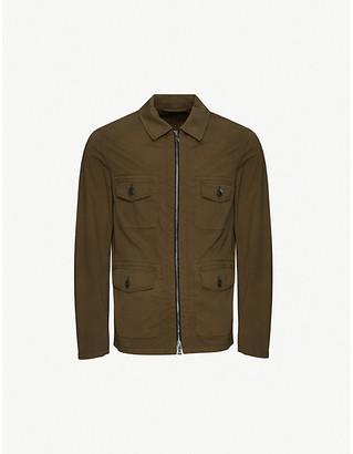 Oscar Jacobson Raf stretch-cotton jacket