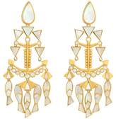 Tory Burch Fish Statement Earrings Earring