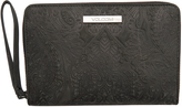 Volcom Ripple Row Leather Wallet Black