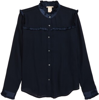 Scotch R'Belle Kids' Ruffle Button-Up Shirt